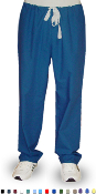 Basic Medical Scrubs - Unisex - 1 Pocket Drawstring Scrub Pants.