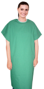 Cheap Priced Medical Patient Exam Gowns. 50 Gowns Or More For Only $7.99.