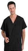 Unisex Scrubs - Solid 4 Pocket Cargo Scrub Set And Pencil Pocket.