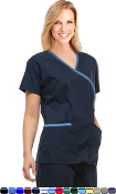 Crossover 5 Pocket Solid Scrub Set.