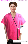 Plus Size - Mammography Patient Gowns - Front Open Exam Gowns. 50 Gowns Or More For Only $13.99.