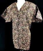 Scrub Print Of The Month - Brown Paisley Scrubs