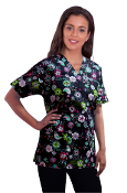 Scrub Print Of The Month - Flowers And Birds Print Scrubs