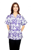 Scrub Print Of The Month - Summer Lavender Print Scrubs
