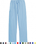 Basic Medical Scrubs - Women - 1 Pocket Cargo Scrub Pants.