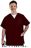 Unisex Scrubs - V Neck 3 Pocket Scrub Top With A Pencil Pocket.